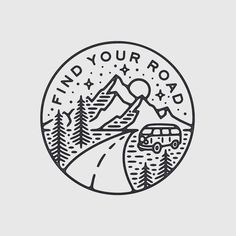 Ideas For Travel Drawing Doodles Travel Drawing, Camping Drawing, Tatoo Art, Grafik Design, Tattoo Inspiration, Art Inspo, Art Drawings, Small Drawings, Tattoo Designs