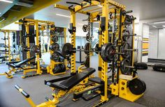 Good Looking Power Rack At The Pittsburgh Steelers (american football team) UPMC Rooney Sports Complex