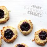 Cherry Bakewell Cookies