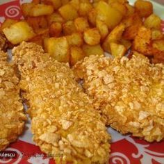 Piept de Pui KFC Dessert Cake Recipes, Sweets Recipes, Easy Desserts, Baby Food Recipes, Cooking Recipes, Healthy Recipes, Kfc, Krispy Chicken, Good Food