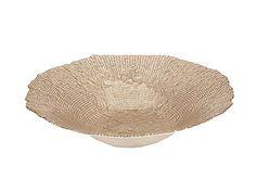 Gold Glass Bowl