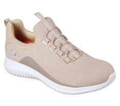 7bf77ac58681 12830 Taupe Skechers Shoe Memory Foam Women Slip On Comfort Casual Knit Mesh