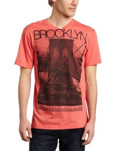 Marc Ecko Cut & Sew Men's Brooklyn Back Short Sleeve V-Neck Tee