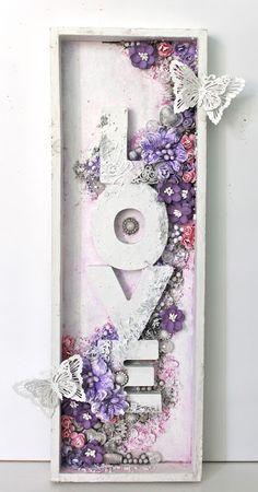 Mixed Media Artwork, Mixed Media Collage, Mixed Media Canvas, Hobbies And Crafts, Diy And Crafts, Arts And Crafts, Paper Crafts, Altered Canvas, Altered Art