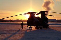 Sunrise Chinook