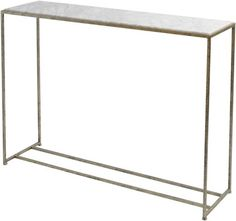 Vienna Marble Top Console Table