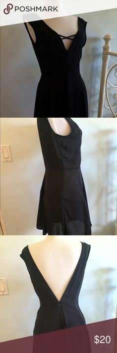 Brandy Melville Dress One Size Never been worn Very sexy dress from Brandy Melville. Low back, skater dress style. Perfect for going out! Brandy Melville Dresses Midi
