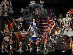 american mcgee's alice tattoo - Google Search