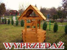 studnie, studnia drewniana ogrodowa, dekoracyjna