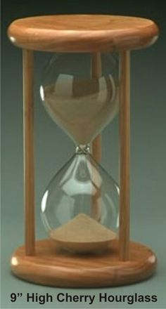 Unity Sand Ceremony Wedding Hourglass, $245.00. I like it because an hour glass is in the shape of an infinity symbol.