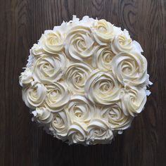 4-layer Coconut Cake with Swiss Meringue Buttercream Frosting & Rosettes (http://www.thejudylab.com/recipes-blog/4-layer-coconut-cake-with-swiss-meringue-buttercream-frosting-and-rosettes)