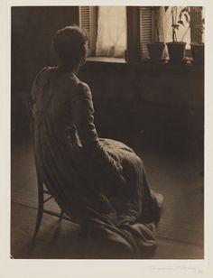 kafkasapartment:  Evening - Interior, 1899. Photogravure print.Clarence Hudson White