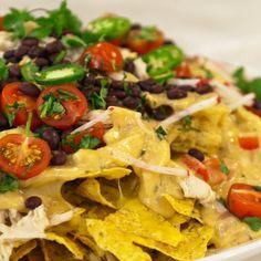 Nachos Supremo! The go to on any Friday night! #cheese #cheesy #nachos