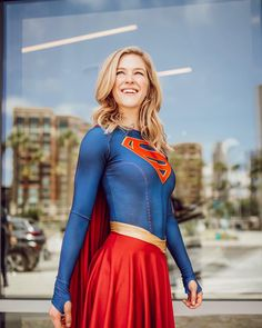 Kelsey Impicciche as Supergirl Dc Cosplay, Marvel Cosplay, Cute Cosplay, Cosplay Girls, Female Cosplay, Supergirl Pictures, Power Girl Cosplay, Elven Princess, Blonde Women