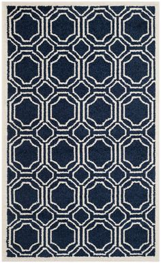 Safavieh Amherst Indoor/Outdoor Rug (AMT411), Blue