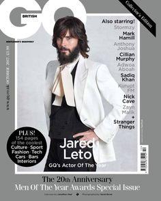 Jared Leto in GQ Magazine 2017.