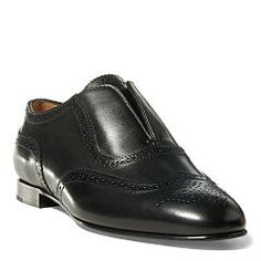 Quinby Calfskin Oxford - Ralph Lauren All Shoes - RalphLauren.com