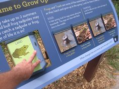 Outdoor Interactive Exhibit Discovery Trail - Snodgrass Design