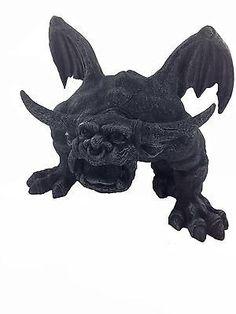 Winged Bull Horned Guardian Gargoyle