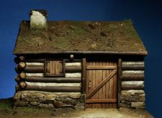 French and Indian War- 18th Century Log Cabin/Trading Post