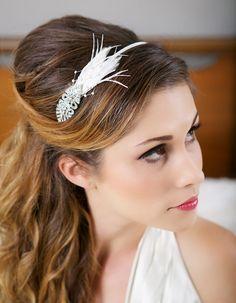 Flapper Headband Great Gatsby Headband Crystal by GildedShadows
