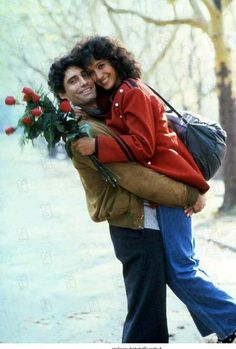 Jennifer Beals as Alex and Michael Nouri as Nick star in 'Flashdance' (1983)