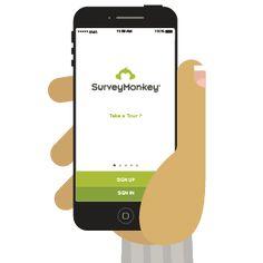 SurveyMonkey - Connexion