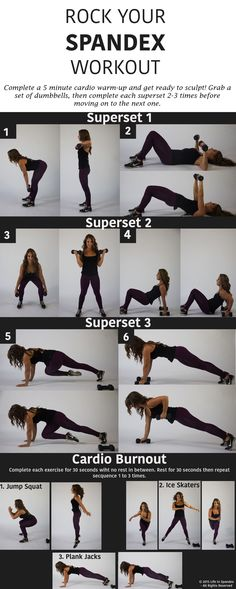 Sculpt, and Build With This Superset Strength-Training Workout This workout combines weight work with a cardio burst to rock your spandex!This workout combines weight work with a cardio burst to rock your spandex! Fitness Tips, Fitness Motivation, Health Fitness, Workout Fitness, Lifting Motivation, Fitness Plan, Fitness Exercises, Motivation Quotes, Strength Training Workouts