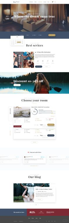 Hotel Booking - Travel Hotel Booking PSD Template #luxury #motel #relax • Download ➝ https://themeforest.net/item/hotel-booking-travel-hotel-booking-psd-template/19618943?ref=pxcr