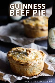 This Put-Style Guinness and Beef Pie is worth writing home about. It can be made in stages or one delicious weekend afternoon. Make this and you'll have the luck of the Irish on your side! pies Pub-Style Guinness and Beef Pie Irish Recipes, Pie Recipes, Dessert Recipes, Catering Recipes, Copykat Recipes, Scottish Recipes, Catering Ideas, Russian Recipes, Curry Recipes