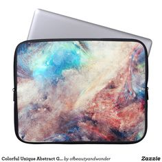 Choose from a variety of Colorful laptop sleeves or make your own! Shop now for custom laptop sleeves & more! Custom Laptop, Best Laptops, Personalized Products, Laptop Sleeves, Grunge, Colorful, Abstract, Unique, Collection