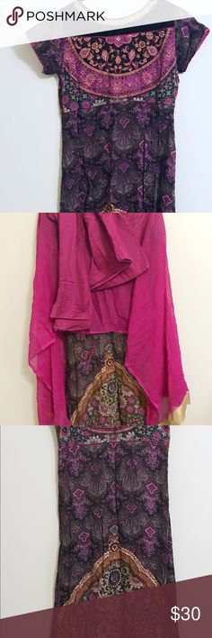 Salwar kameez Set Kurta New. Floral design. Long dress. Salwar kameez. Lynne clothing. Dresses