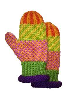 MittensChildren'sHand knitIcelandic designSeamless by LizSox, $28.00