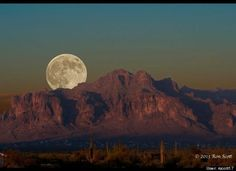 Superstition Mountains -- Arizona