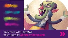 Painting with bitmap textures in Affinity Designer