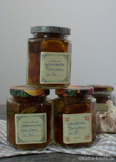 Getrocknete Tomaten in Öl - Katha-kocht!