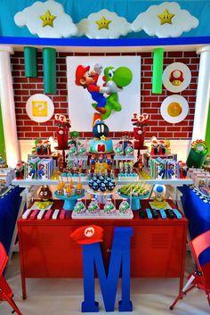 Super Mario Bros Birthday Party Ideas | Photo 42 of 53 | Catch My Party