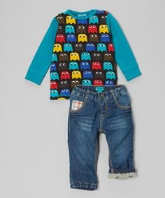 Peacock Danner Top & Egil Jeans - Infant & Toddler | Daily deals for moms, babies and kids