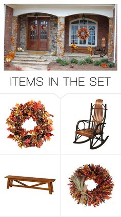 """A Fall Welcome Home"" by lmm2nd ❤ liked on Polyvore featuring art"