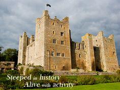 Bolton Castle near Leyburn in Wensleydale www.yorkshirenet.co.uk/yorkshire-castles-gardens-stately-homes.aspx