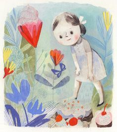 Beautiful picture book 'Virginia Wolf' (to be released in March from Kids Can Press), written by Kyo Maclear and illustrated by Canadian Isabelle Arsenault.