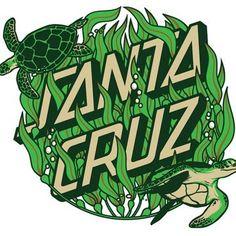 """SANTA CRUZ Kelp Dot Decal 3"""" Skateboard Sticker"""