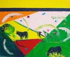 Galería Javier Román | Arnaldo | Geometría con toros
