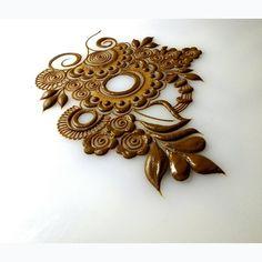 No photo description available. Khafif Mehndi Design, Mehndi Design Pictures, Mehndi Art Designs, Mehndi Patterns, Bridal Mehndi Designs, Henna Tattoo Designs, Henna Flower Designs, Mehndi Images, Henna Tattoos