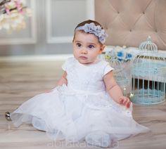 Sukienka do chrztu Anastazja biała