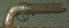 The six-shot pepperbox pistol carried by Joseph in Carthage Jail before his death.