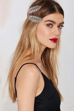 Nasty Gal's Metal Headpiece is Inspired by Historic Olympian Garb #fashion trendhunter.com