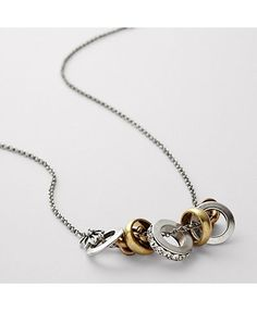 Fossil's Multi Band Necklace