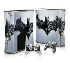 Video Game Accessories Symbol Of The Brand Xbox 360 E Catwoman Gotham Fille Arkham City Batman Skin Superslim & 2 Pad Skin Strong Packing