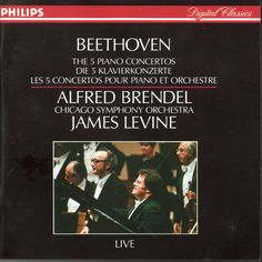 Alfred Brendel & James Levine: Beethoven: The 5 Piano Concertos